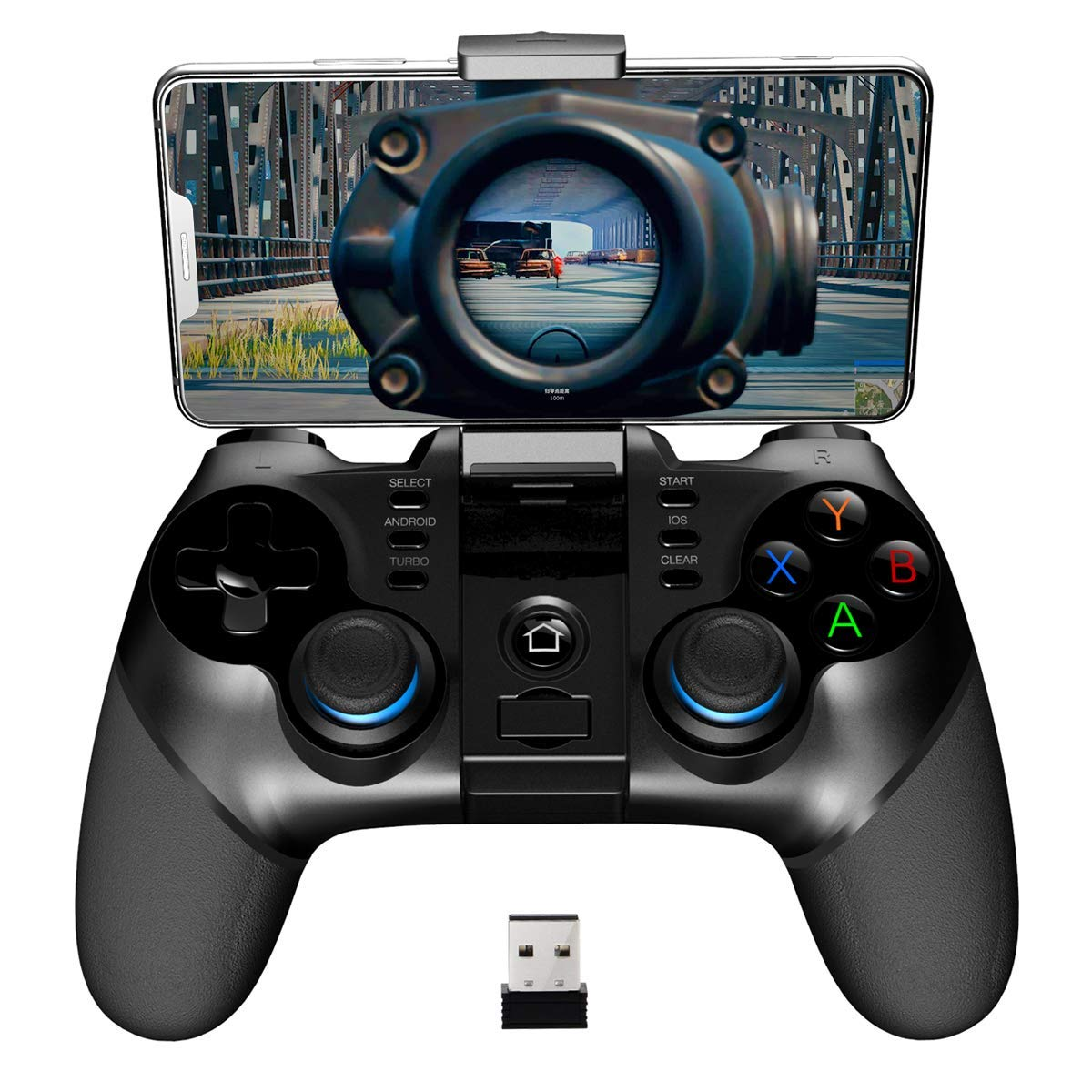 Gamepad Binden