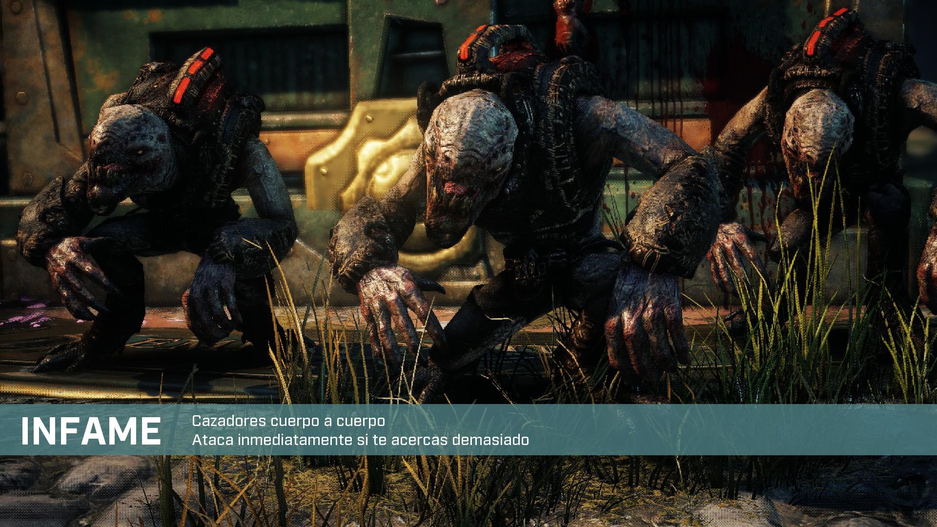 Presentación de enemigos de Gear Tactics
