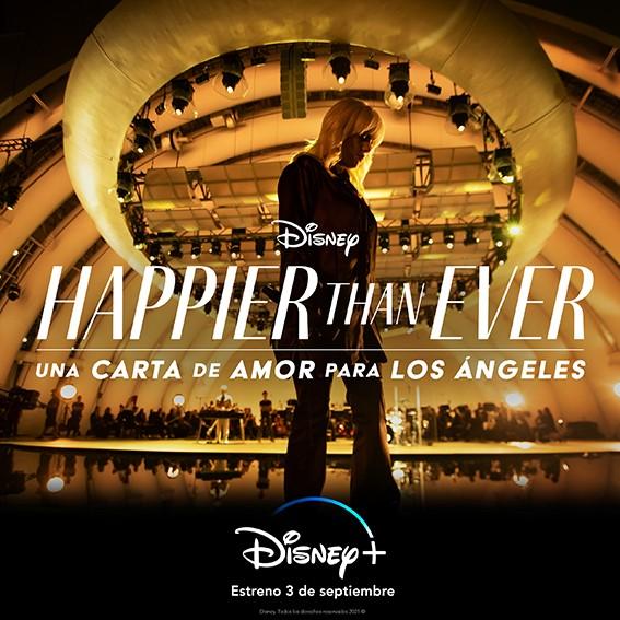 Concierto de Billie Eilish en Disney+ | PandaAncha.mx