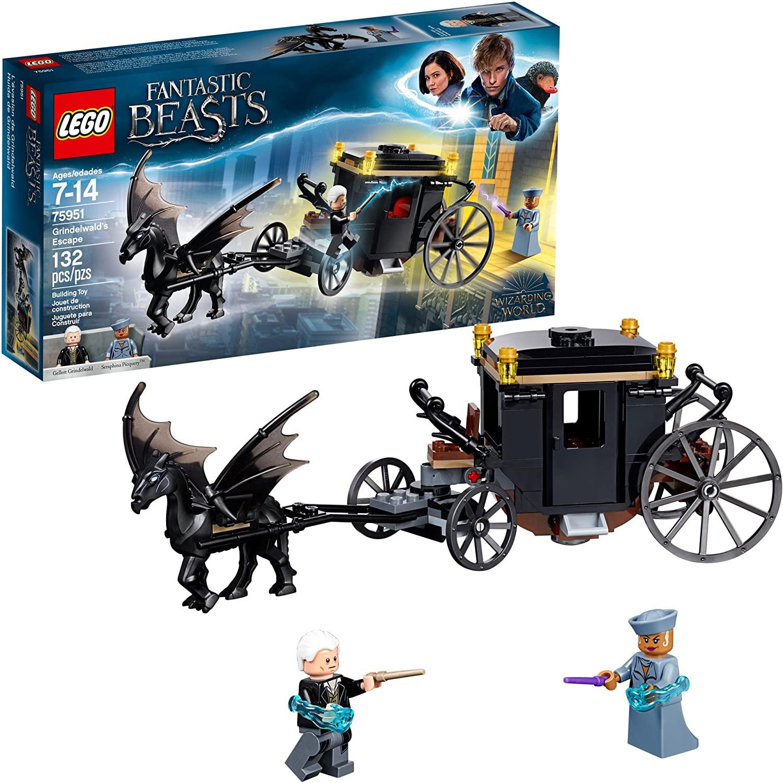 LEGO Fantastic Beasts: Huida de Grindelwald en Amazon México.