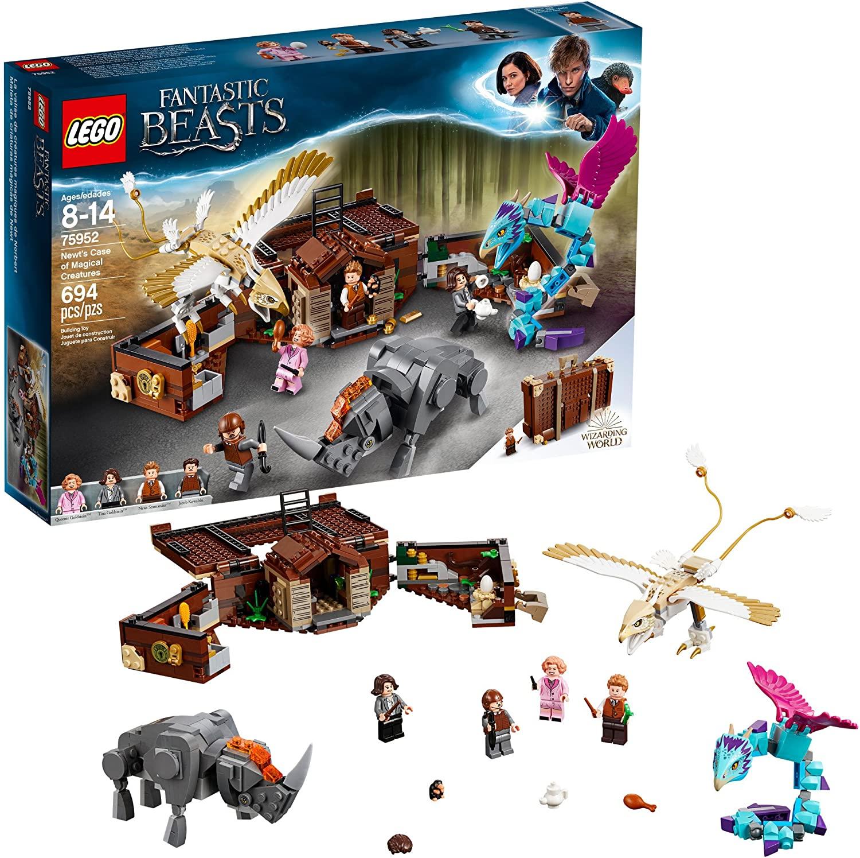 LEGO Fantastic Beasts: Maleta de criaturas mágicas de Newt en Amazon México.