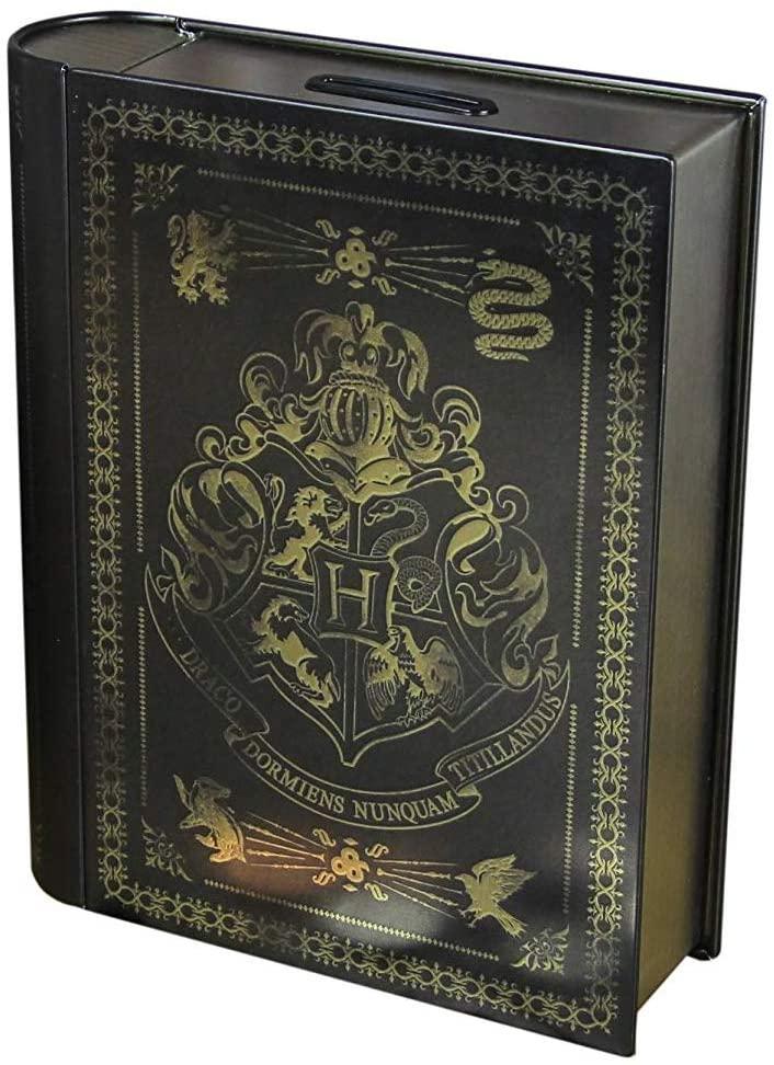 Caja fuerte de Harry Potter en forma de libro en Amazon México.
