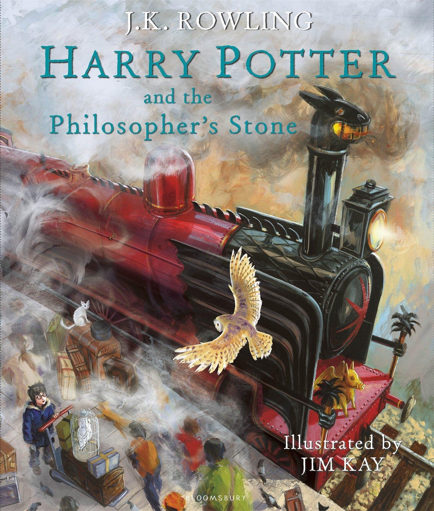 Harry Potter y la Piedra Filosofal versión ilustrada en Amazon México.