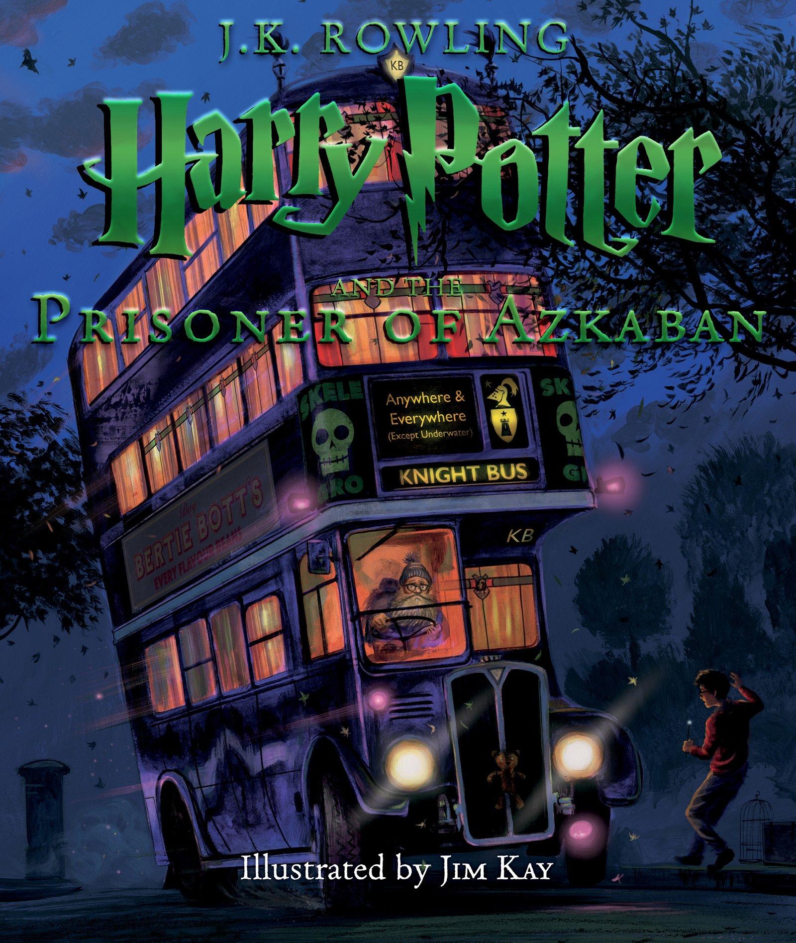 Harry Potter y el Prisionero de Azkaban versión ilustrada en Amazon México.