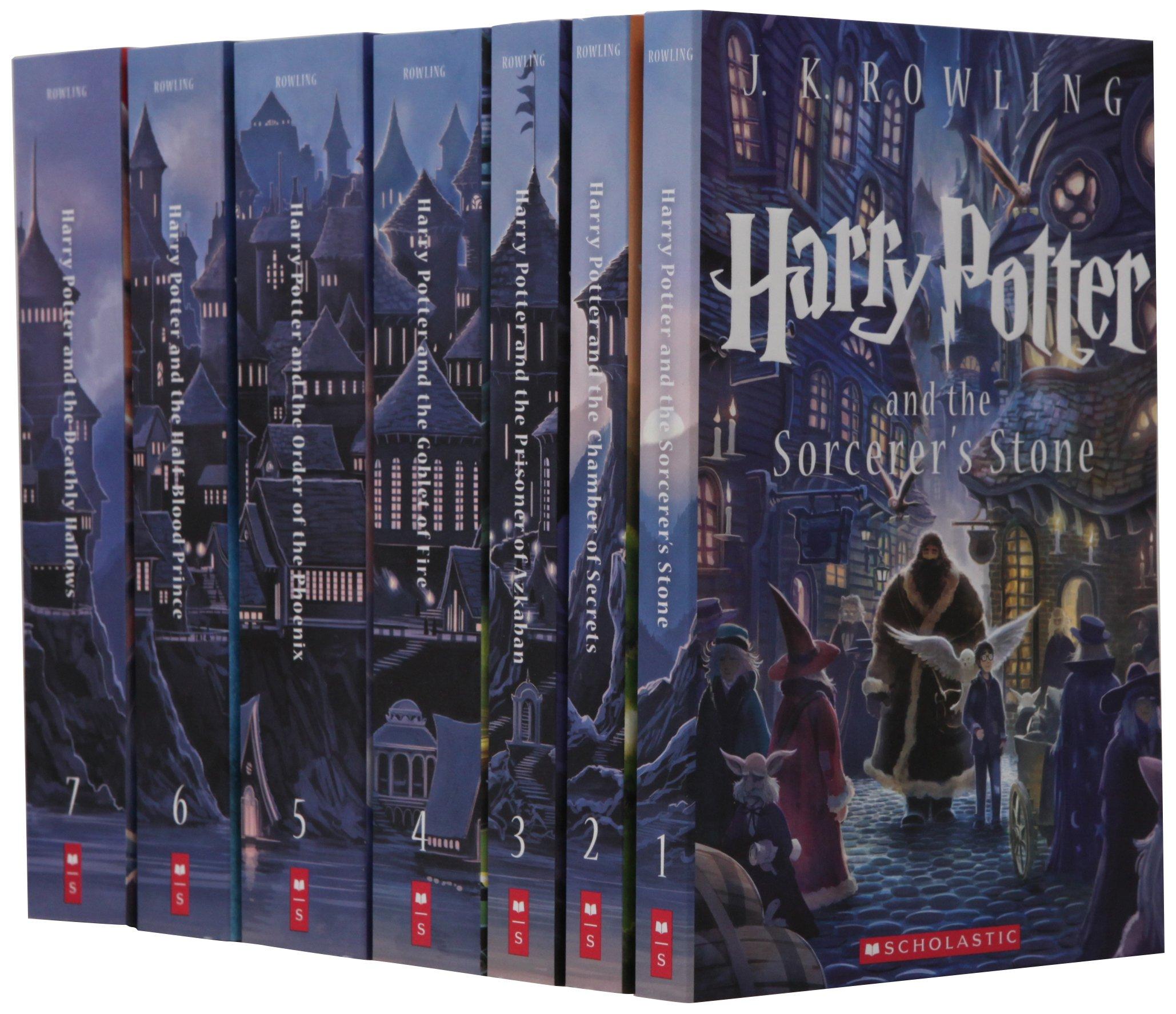 Libros de Harry Potter en Amazon México.