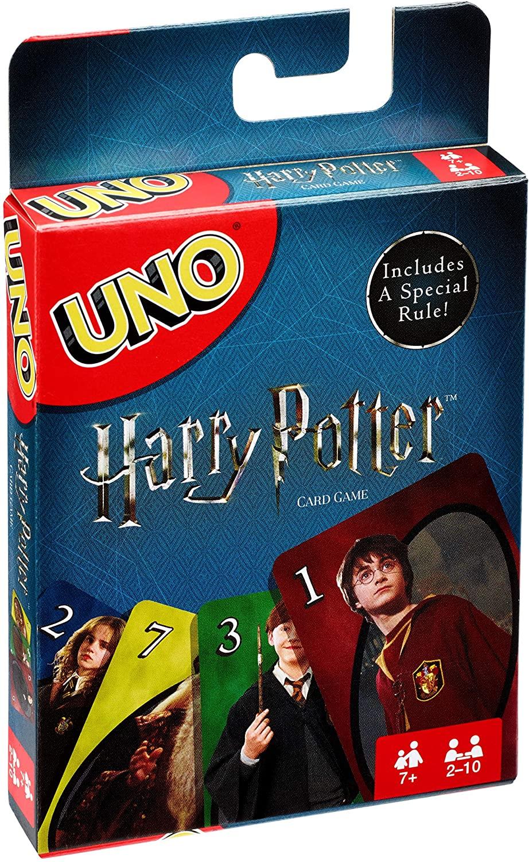UNO Harry Potter en Amazon México.
