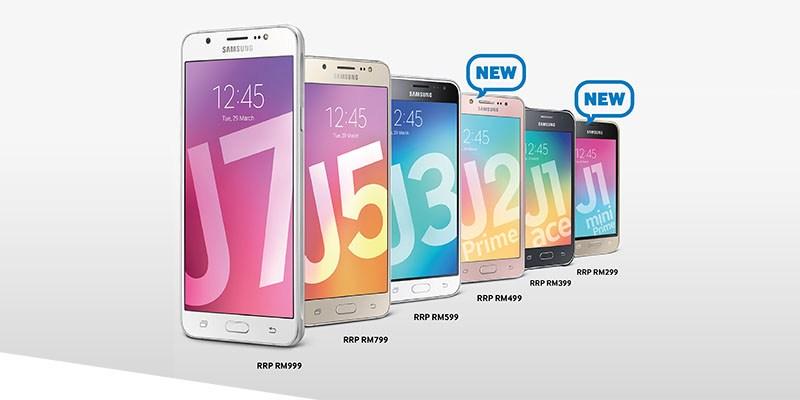 Serie J de Samsung Galaxy