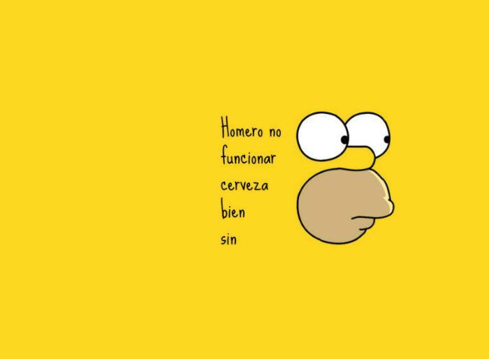 Frases Homero Simpson