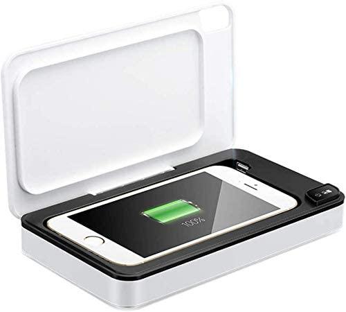 Desinfectante UV para teléfono inteligente y objetos pequeños.