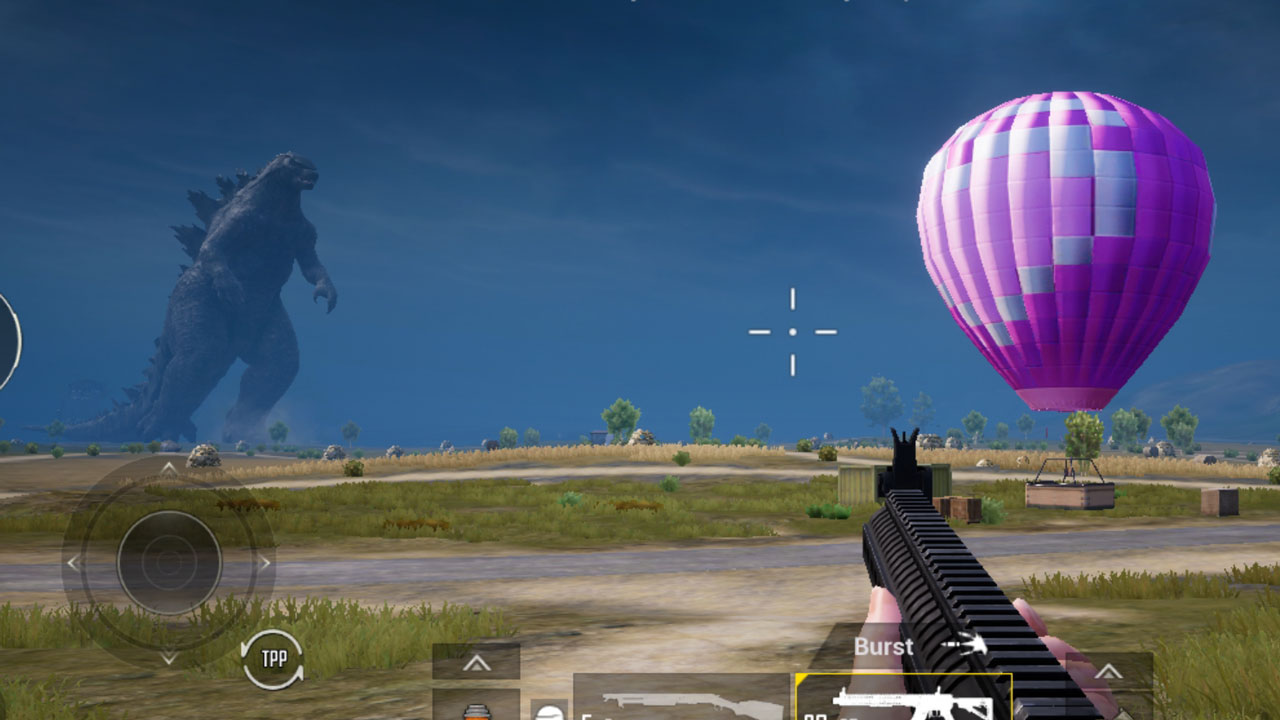 Godzilla vs Kong y todo lo nuevo en la versión 1.4 de PUBG Mobile