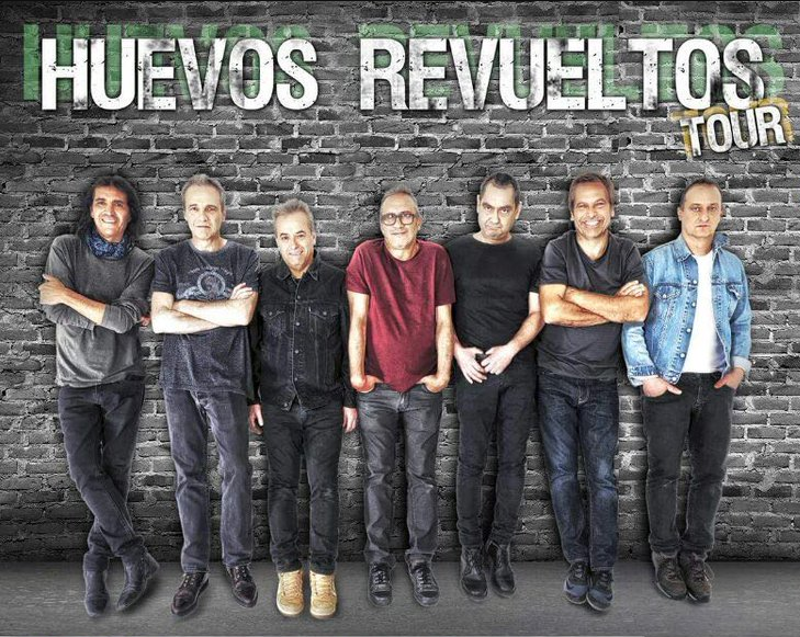 Huevos Revueltos Tour México 2018