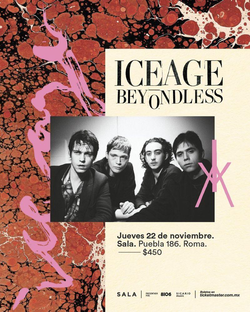 iceage sala cdmx 2018
