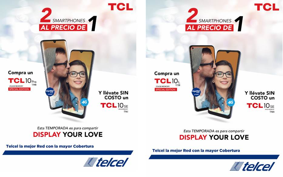 Buen Fin 2020: ¡TCL te da 2x1 en smartphones!
