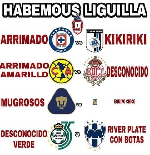 Liga MX, Jornada 17