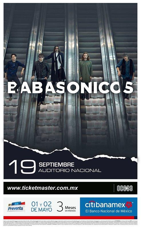 Babasonicos México 2019