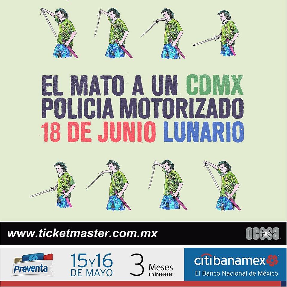 El Mató a un policía Motorizado México 2019