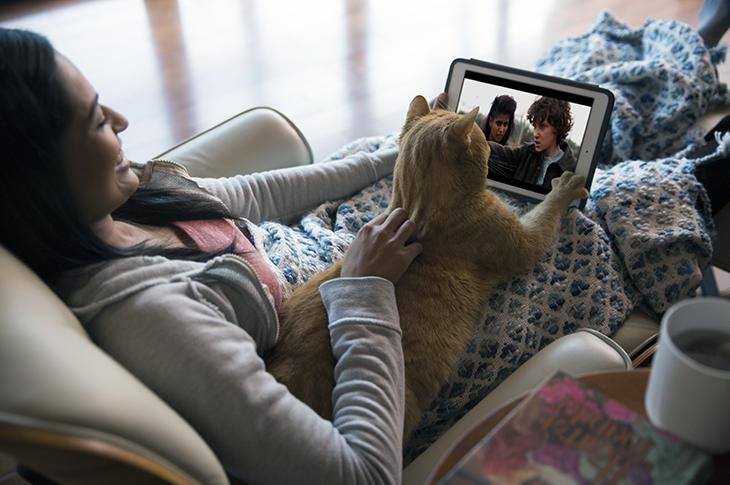 ¿Tú ves Netflix con tu mascota?