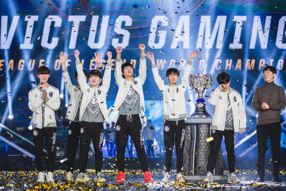 Invictus Gaming campeón de la Worlds 2018 de League of Legends