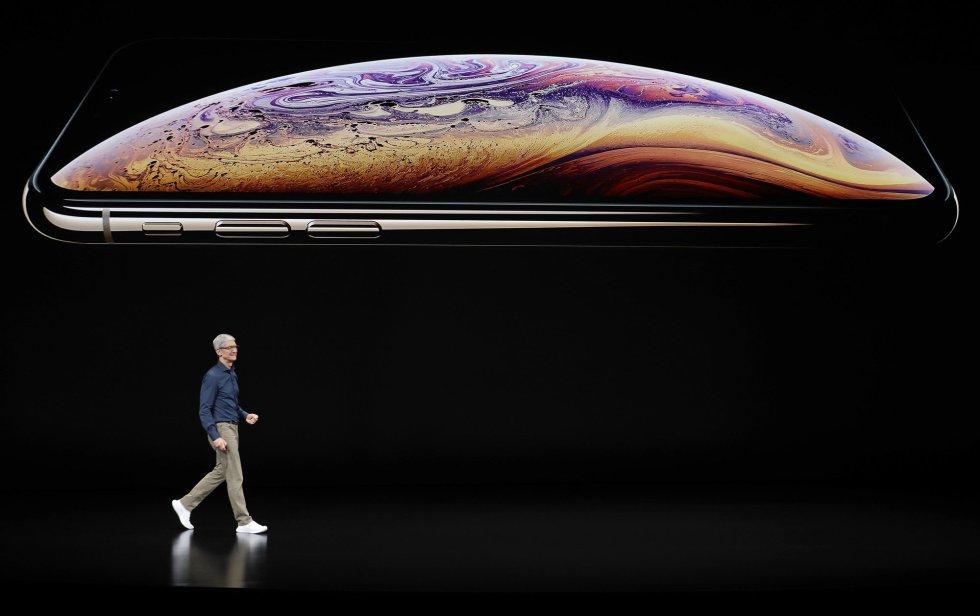 Tim Cook y el nuevo iPhone Xs