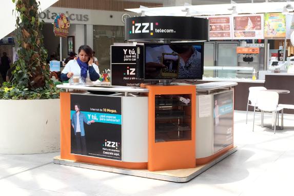 Módulo de venta Izzi
