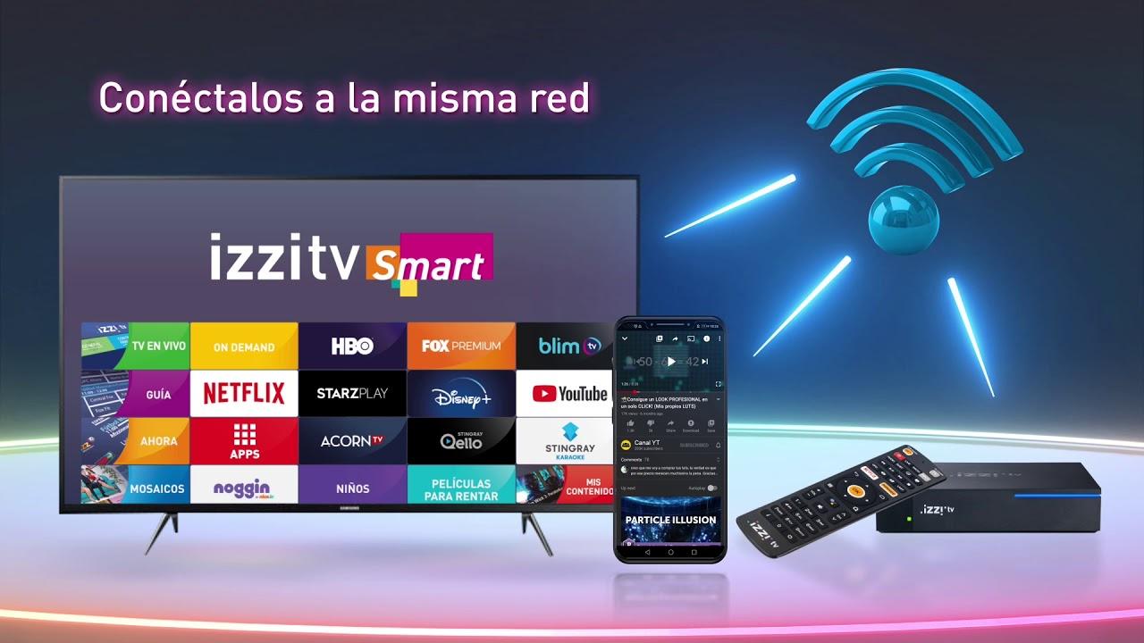 izzitv smart: decodificadores izzi Android TV |PandaAncha.mx