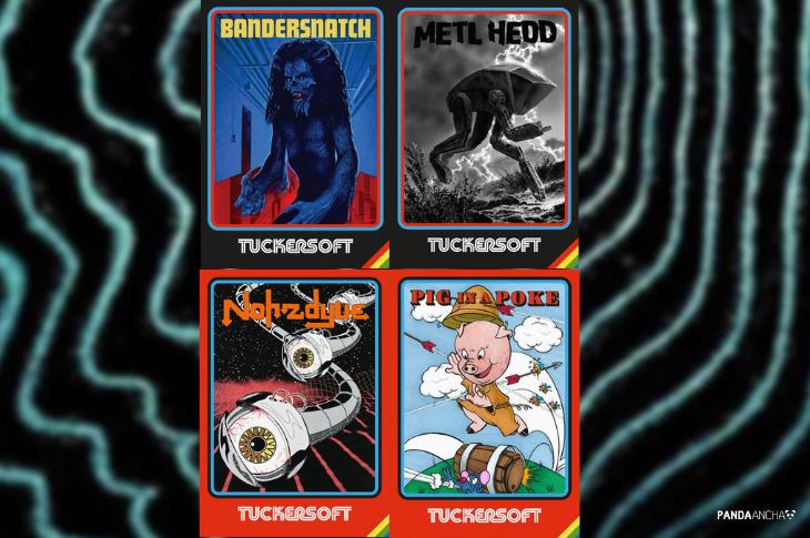 Carteles de juegos de Tuckersoft