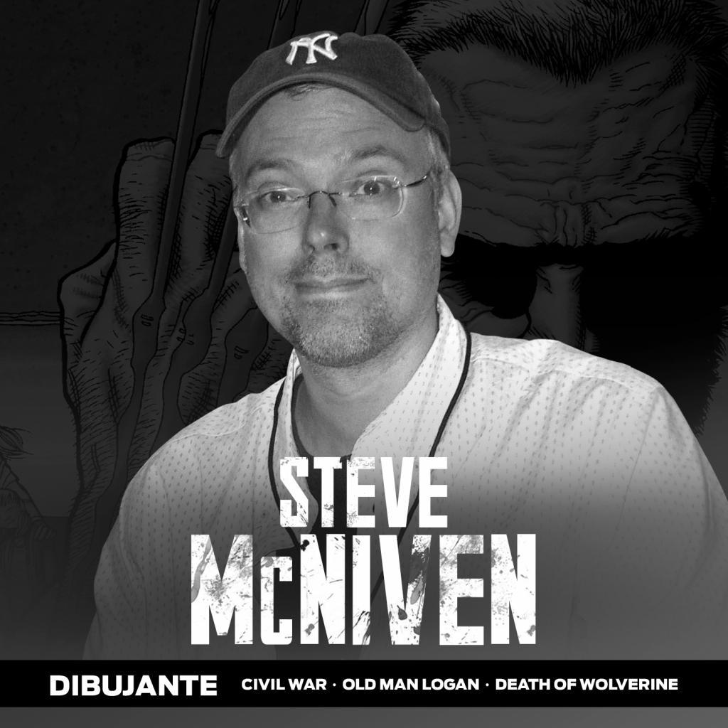 El dibujante Steve McNiven cancela su participación en La Mole 2020.