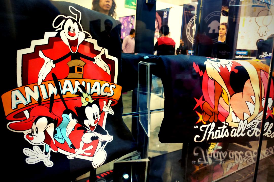 La Mole Store fue un éxito con sus playeras exclusivas de Animaniacs y Taz.