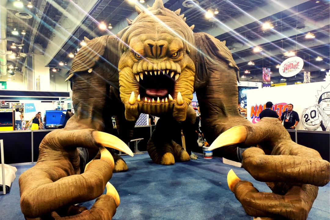 La Mole 2020 exhibió una escultura en tamaño real de la criatura