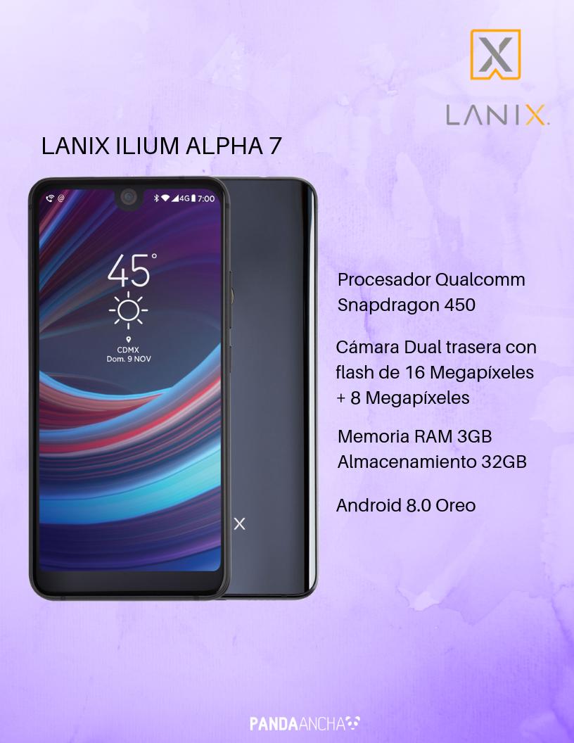 Lanix Ilium Alfa 7