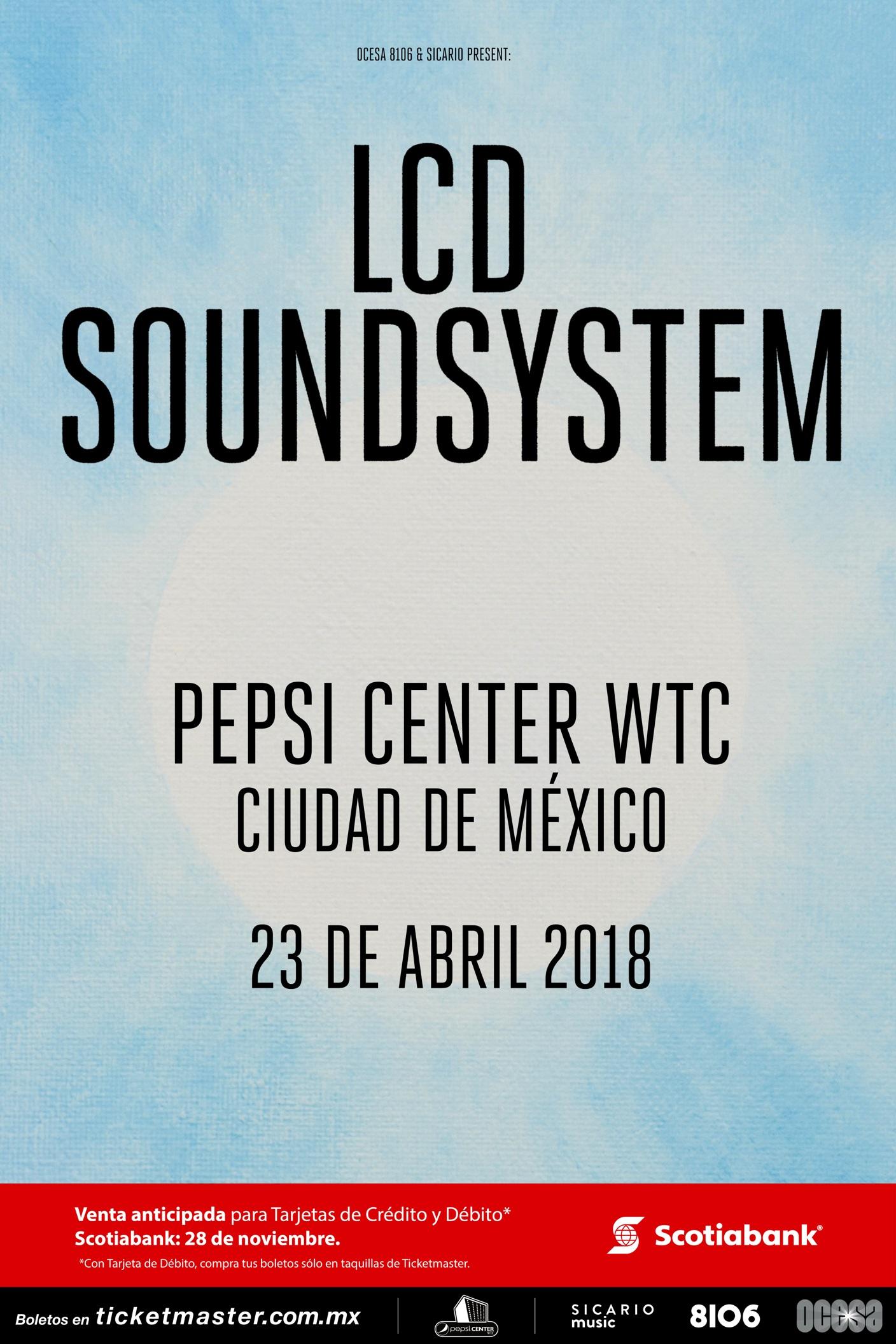 Póster oficial del concierto