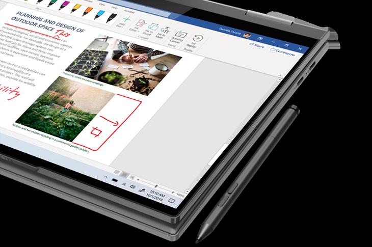 Ficha técnica Lenovo Yoga 5G: primera computadora para redes 5G