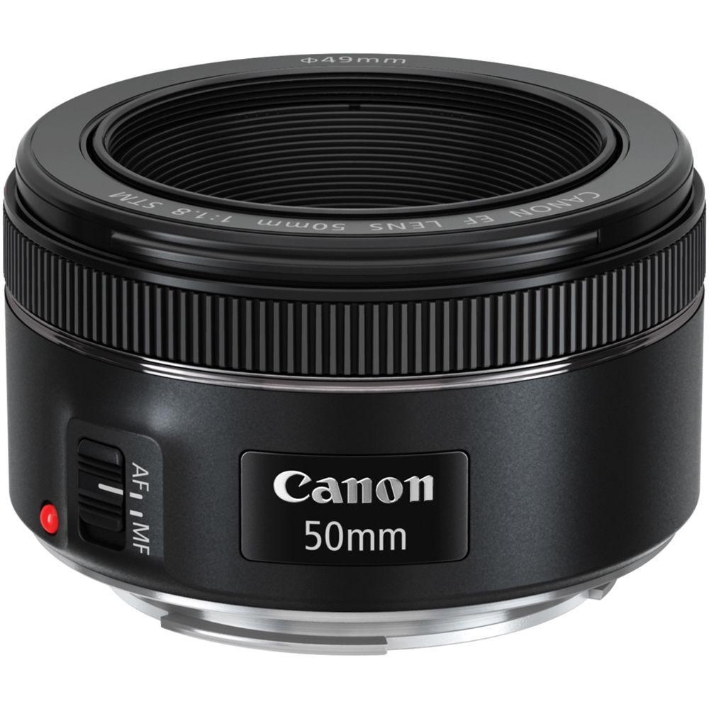Lente Canon EF 50mm f/1.8