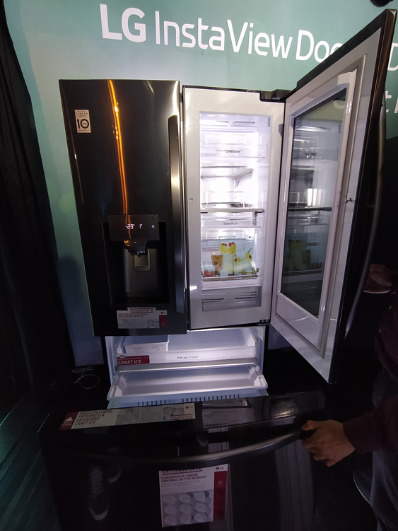LG InstaView: nuevo refrigerador inteligente Door-in-Door con Craft Ice