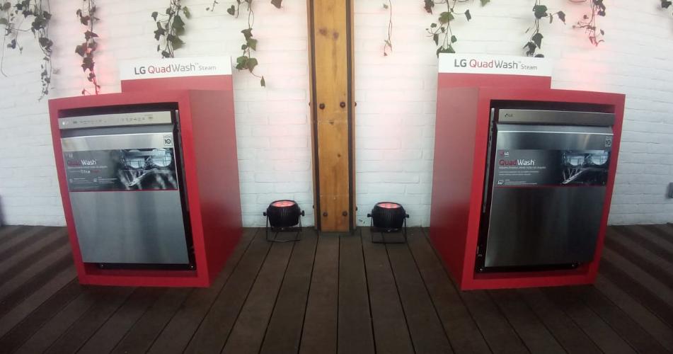 LG presenta en México su lavavajillas con QuadWash y TrueSteam