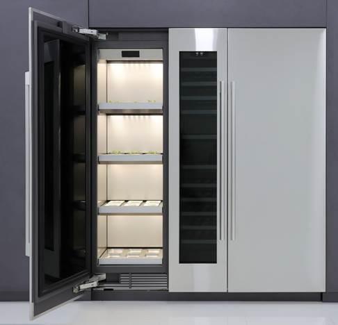 Primer invernadero inteligente de LG Electronics para cultivar vegetales dentro del hogar
