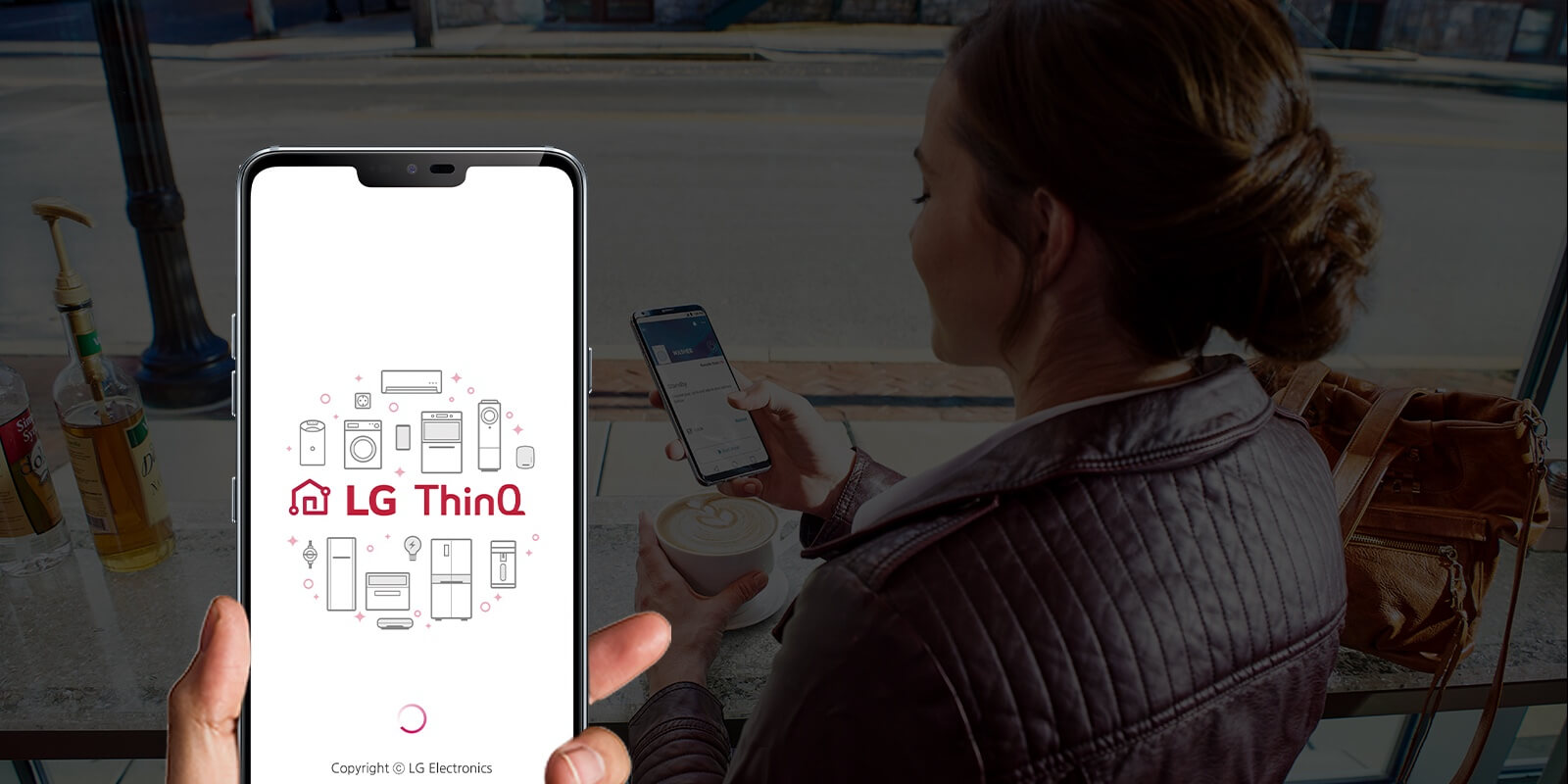 LG ThinQ App te libera de tareas del hogar al permitirte controlar tus dispositivos de manera remota.