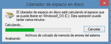 liberador de espacio en windows