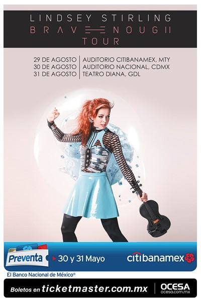 Póster oficial de los conciertos