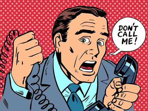 Llamadas SPAM: uno de los males de la publicidad online para los usuarios