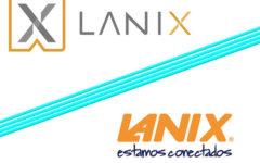 Transformación del logo de Lanix