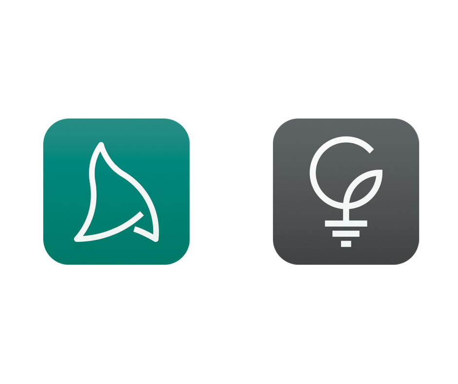 Logotipos de apps Acrobits y Groundwire