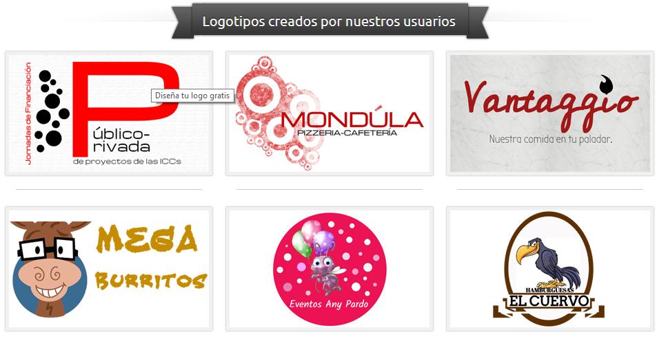 Ejemplos de logos creados con Logosea