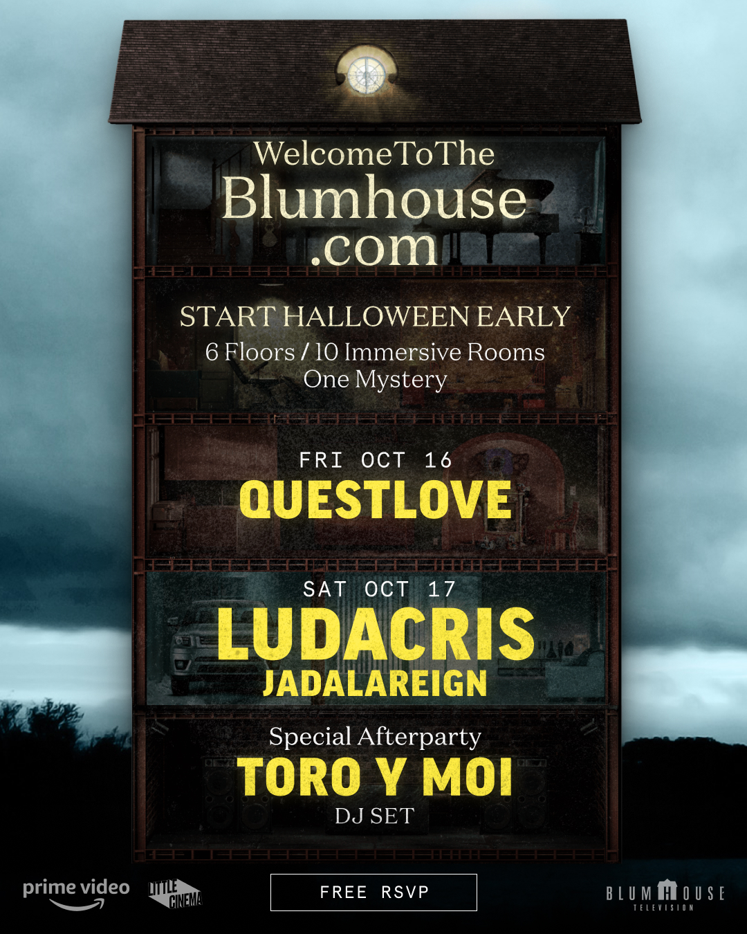 Ludacris y Questlove: Welcome To The Blumhouse|PandaAncha.mx