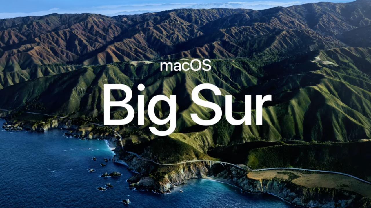 macOS 11.0 Big Sur acaba con la era OS X