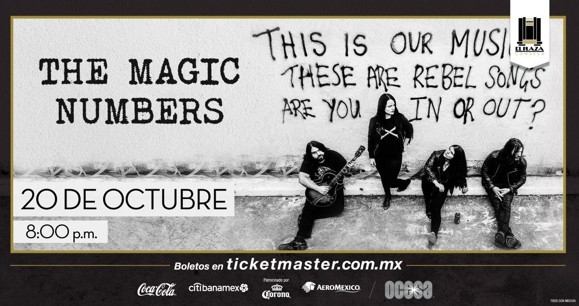 The Magic Numbers CDMX 2018