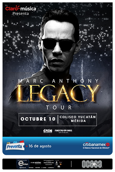 marc anthony mexico 2018