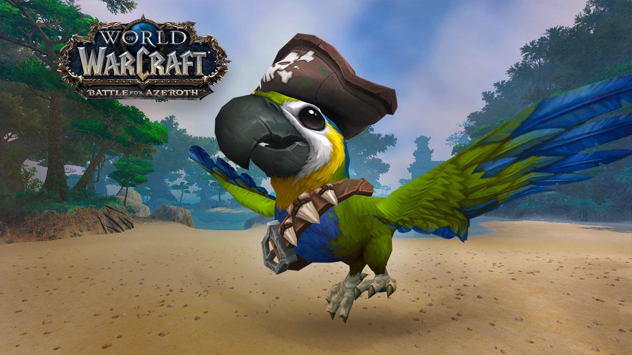 Montura capitán galleta para World of Warcraft
