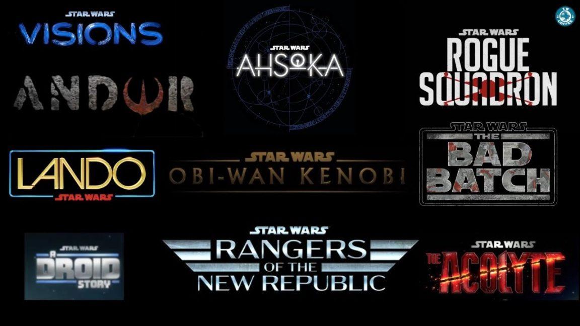 Nuevas películas y series de Star Wars