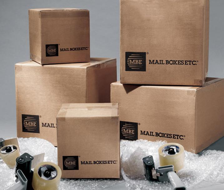 Herramientas de embalaje Mail Boxes Etc